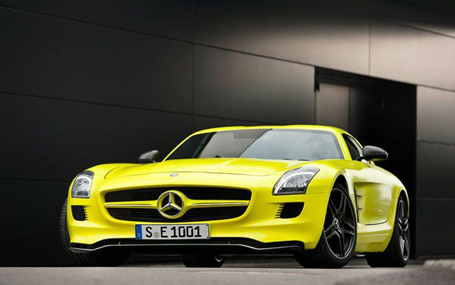 Mercedes-Benz SLS AMG E-Cell_455